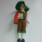 Magis Dolomiti Italy old National costume doll felt clothes vgc 70's male